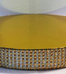 подложка с золотыми камнями