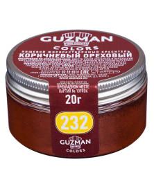 232 коричневый ореховый