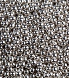 шарики серебро 4