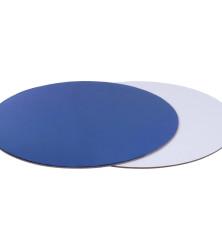 синяя белая